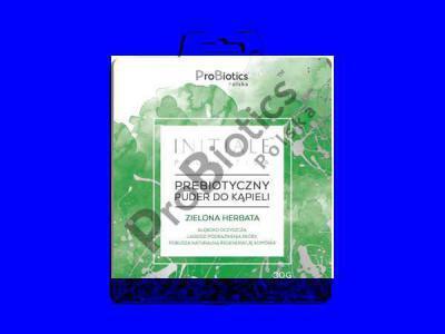 Prebiotyczny puder do kąpieli INITIALE PROBIOTICA ( zielona herbata) 30 g