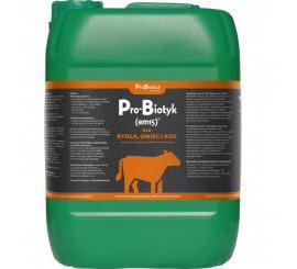 Pro-Biotyk (em15) dla bydła, owiec i kóz - 10L